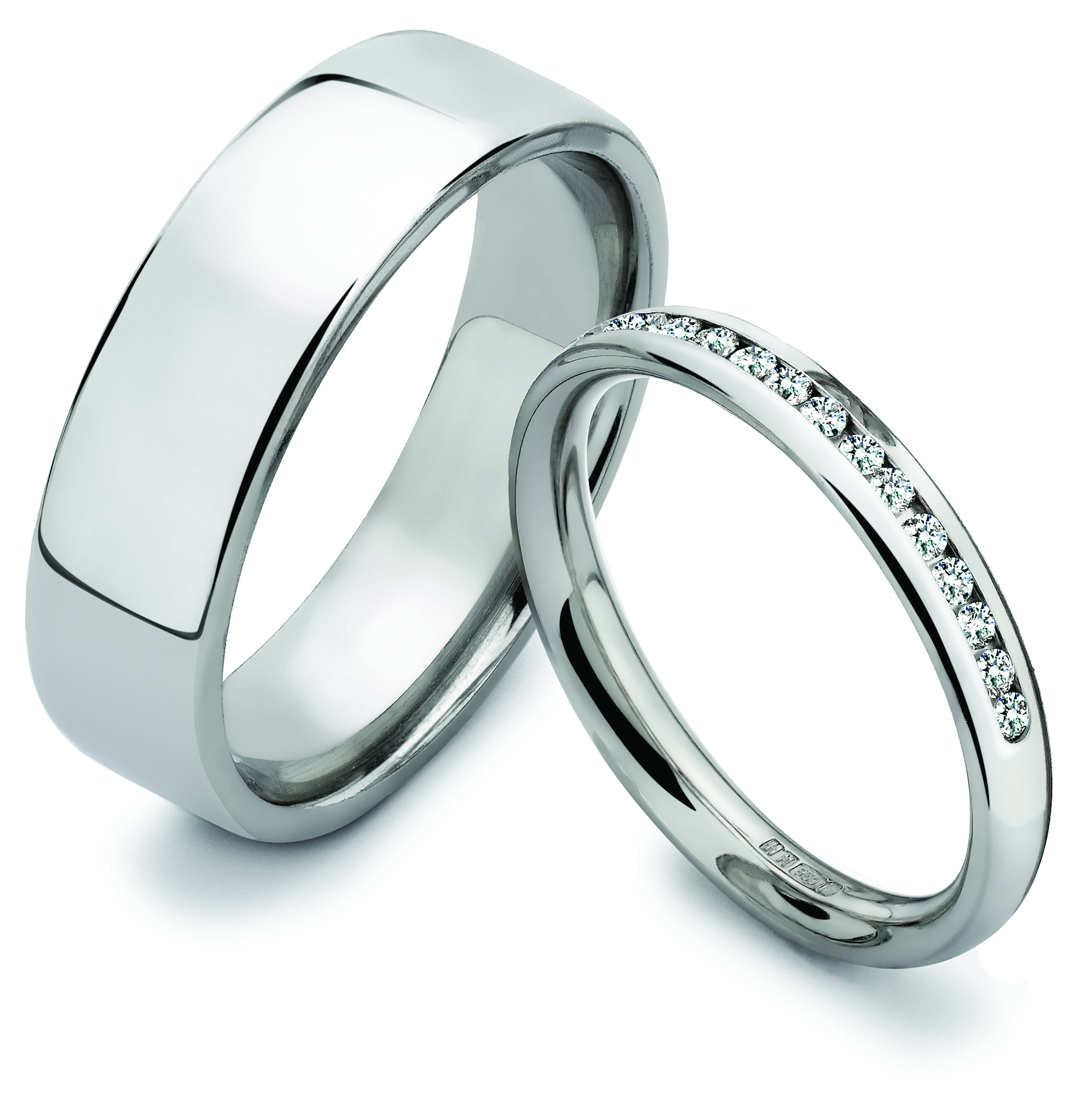 Black Diamond Wedding Rings His And Hers 002 - Black Diamond Wedding Rings His And Hers